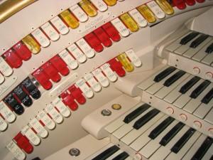 Wurlitzer Stop-keys